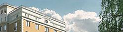 Реклама строящегося здания по улице Кирова
